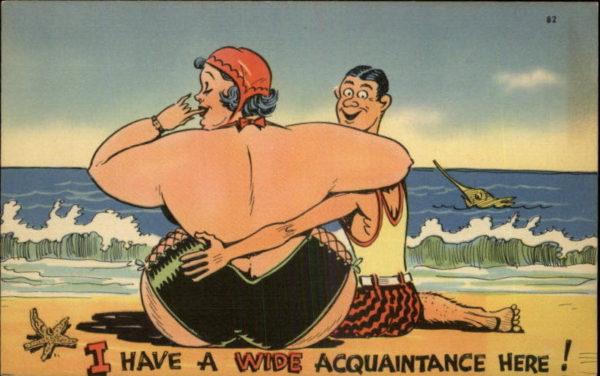 Illustrations of fat women having sex