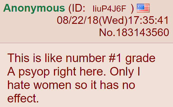 This is like number #1 grade A psyop right here. Only I hate women so it has no effect.