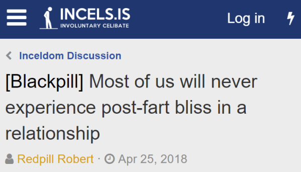 Most of us will never experience post-fart bliss in a relationship