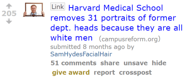 Harvard Medical School removes 31 portraits of former dept. heads because they are all white men