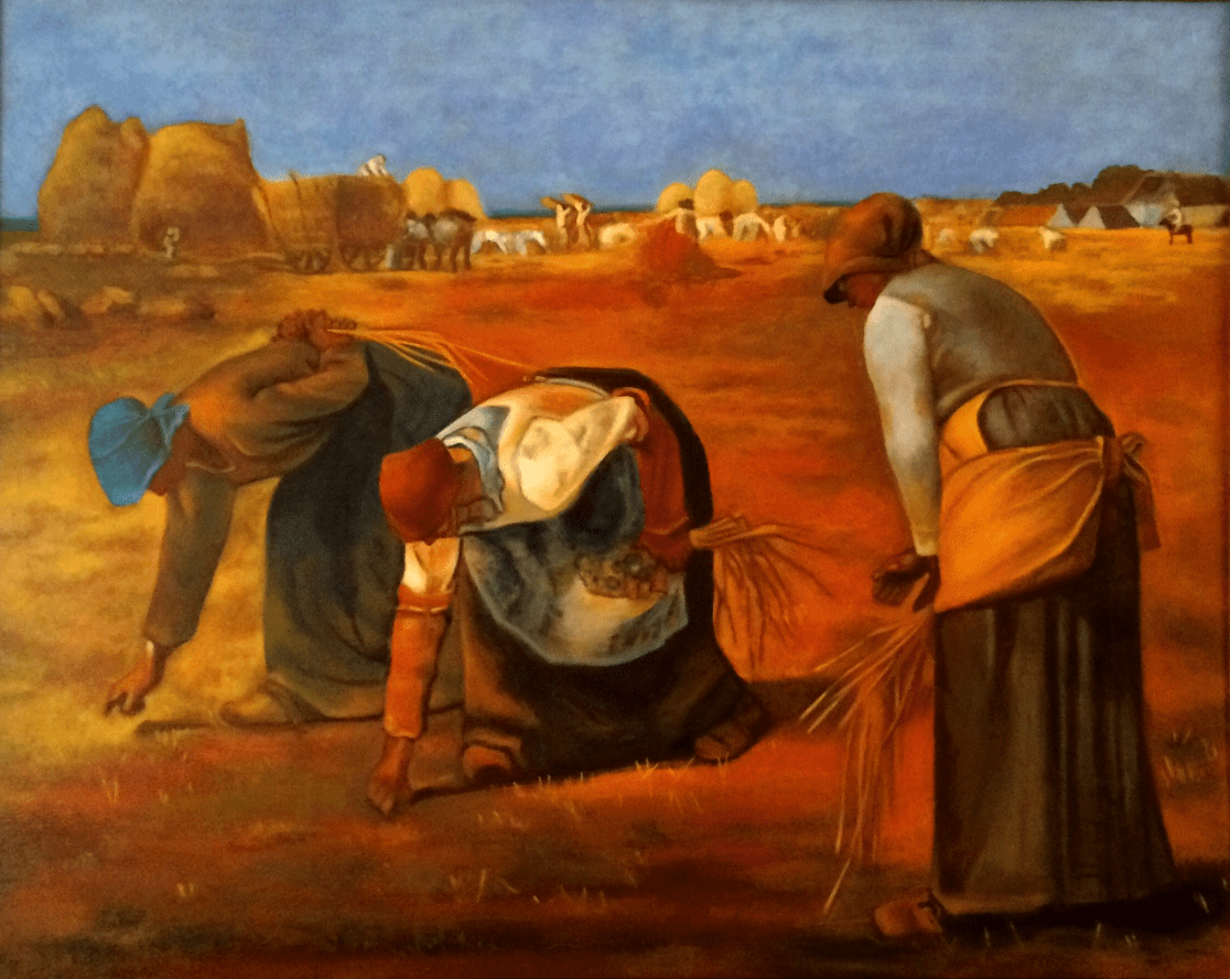 The Gleaners (A Tribute to Millet)