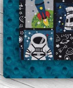 Custom Weighted Blanket Mallard/Space Mission Combo