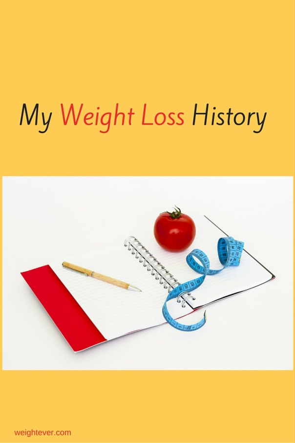 My weight loss history