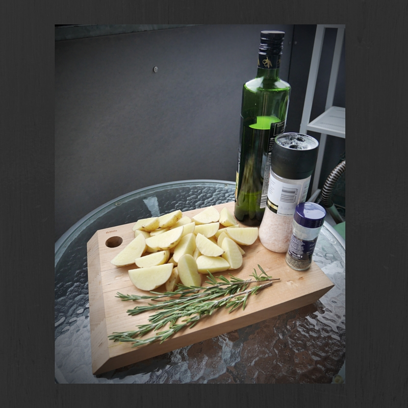 Rosemary roast potatoes ingredients