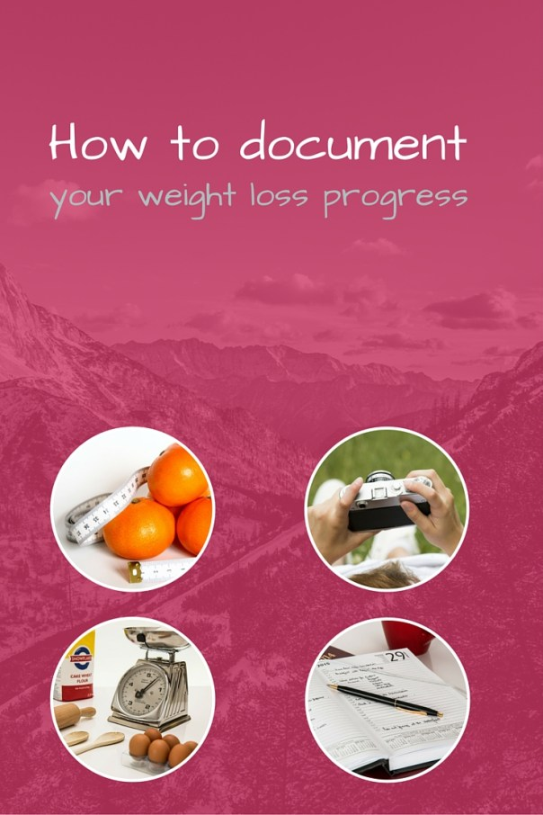 How to document your weight loss progress