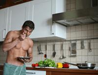 skinny guy building muscle