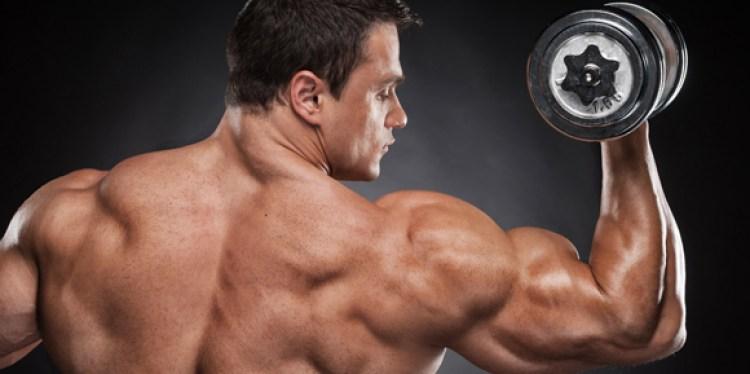 man-back-flexing-muscles-dumbbell-curl