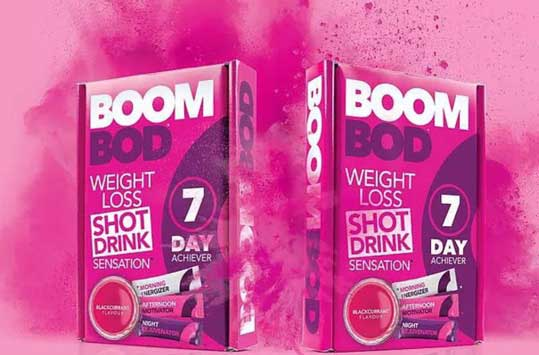 Boombod 7-Day Achiever Ingredient Profile