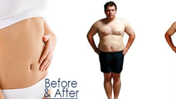 Body Weight Reduction Before and After