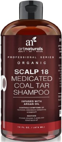 Art Naturals Coal Tar Therapeutic Anti Dandruff Shampoo: