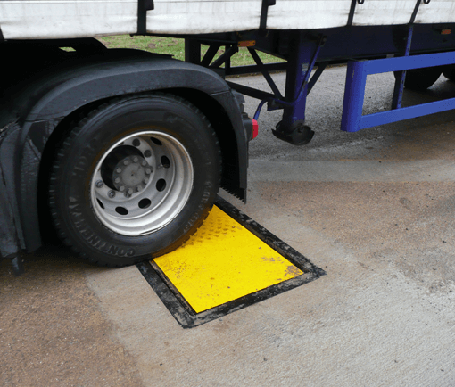 In motion Axle weighbridge