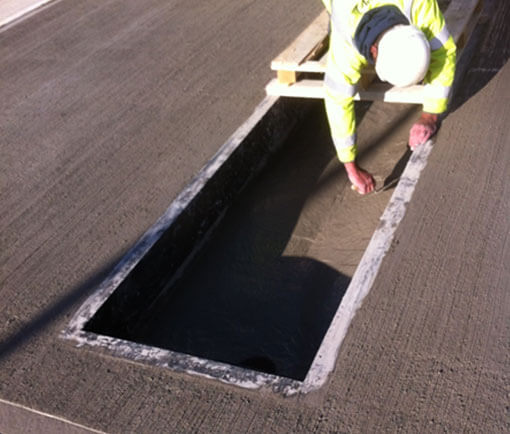 Weighbridge installation