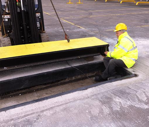 In motion Axle Weighbridge Installation