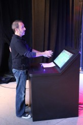 """Animax & Weigl Demo """"A-WAVE,"""" animation control software at IAAPA"""