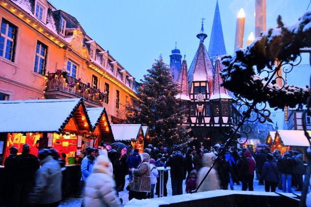 Eindrücke vom Weihnachtsmarkt in Michelstadt