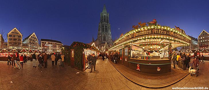 Ulm Weihnachtsmarkt.Der Ulmer Weihnachtsmarkt Weblog Panorama Oliopper