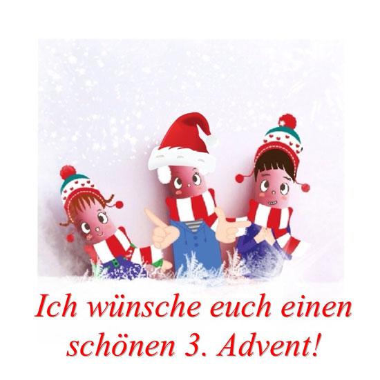 3 Advent Weihnachtszeit DesignBlog