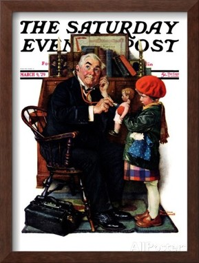 Image result for 20th century  illustration norman rockwell