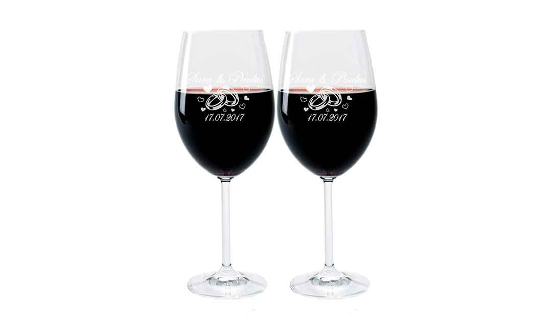 Weinglas Mit Gravur Individuelle Weingläser Sind Ein Gutes