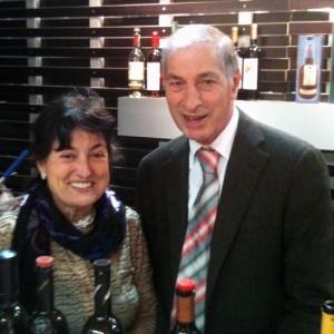 Dolores Oberholzer mit Mann