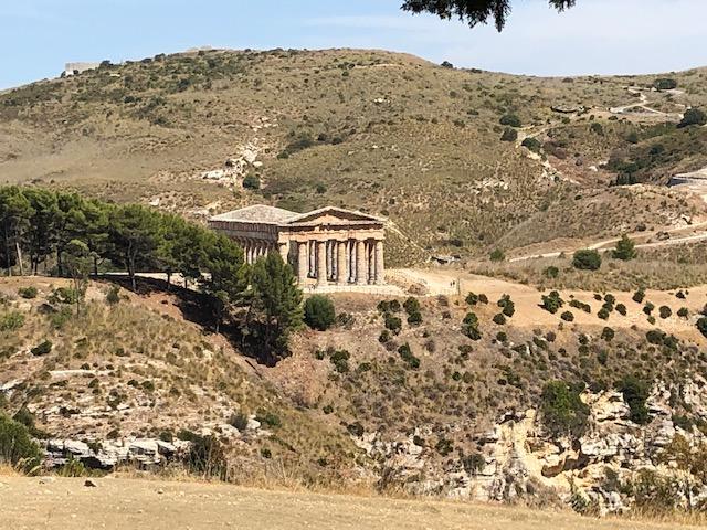 Tempelanlage von Segesta