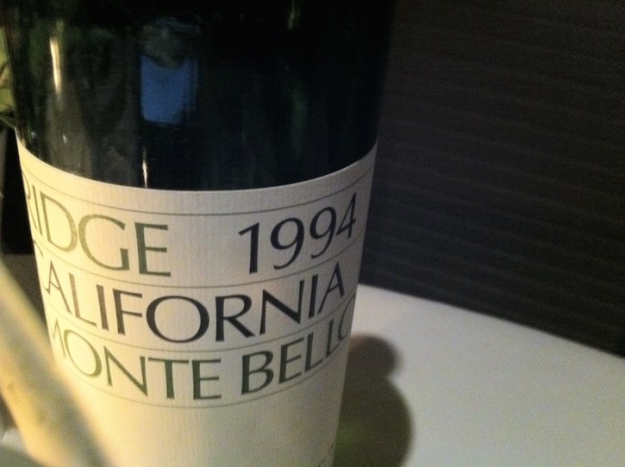 1994 Ridge Monte Bello