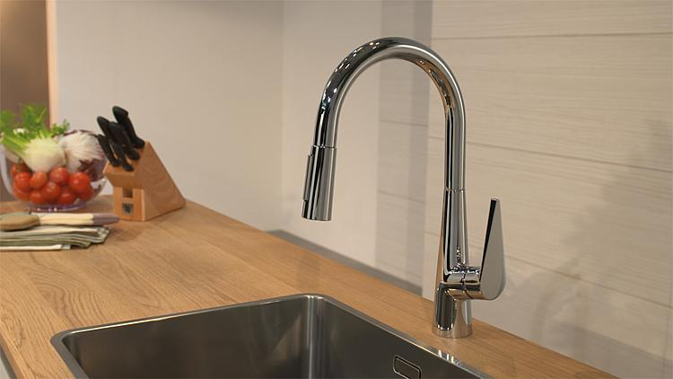mitigeur d evier hansgrohe talis s 200