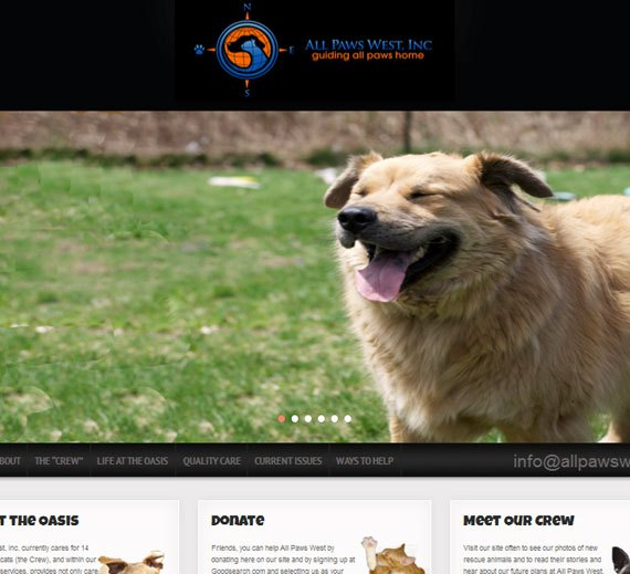 All Paws West Home Page