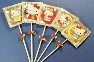 kitty condom Hello Kitty: The Funny, The Weird, And The Horrifying picture