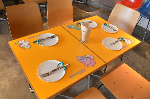 My Little Pony Cafe table