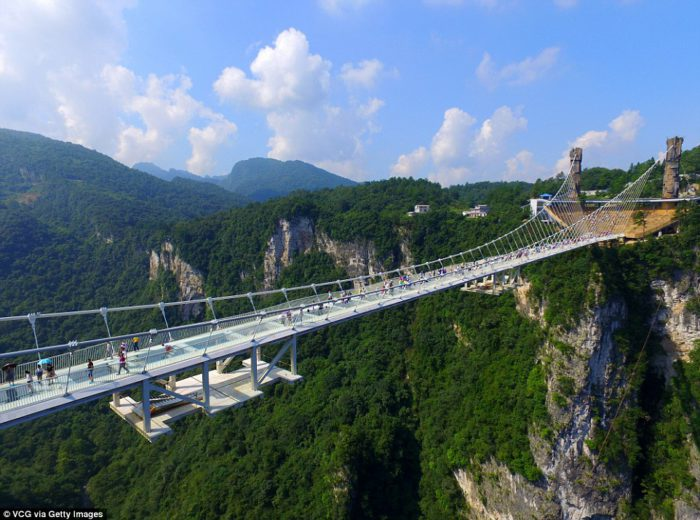 Zhangjiajie Grand Canyon Glass Bridge china