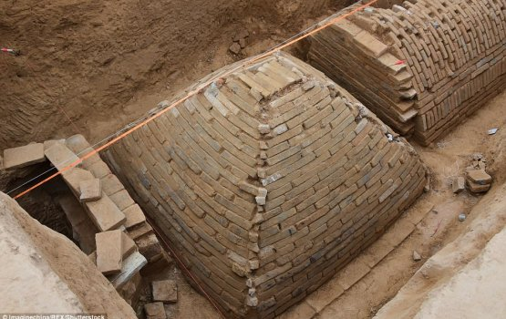 Newly Discovered Golden Age Pyramid Baffles Chinese Archaeologists