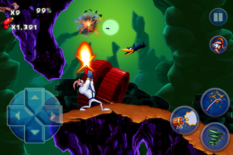 Earthworm Jim for iphone screen