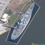 USS Alabama Battleship, Mobile, Alabama, USA