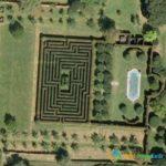 Hatfield House Maze, Hertfordshire, England