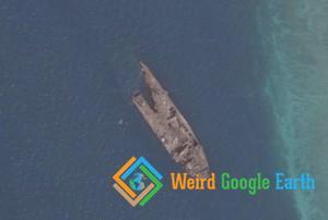 Kharg Shipwreck, Kharg, Iran