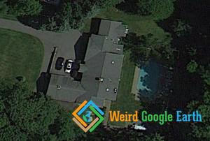 Bill Clinton's House, Chappaqua, New York, USA