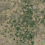 Irrigation Circles Patchwork, Kansas, USA