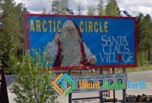Santa's Claus Village, Rovaniemi, Finland