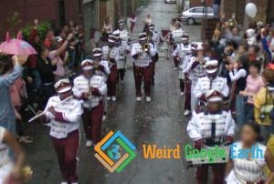 Band Instruments and Uniforms Parade, Pittsburgh, Pennsylvania, USA