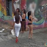 Street Girls in Bogotá