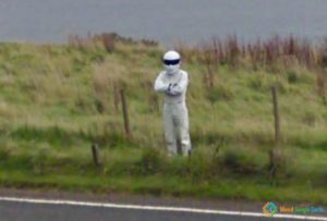 The Stig At Loch Ness Road