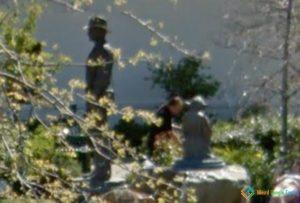 Master Yoda and Indiana Jones in San Anselmo, California