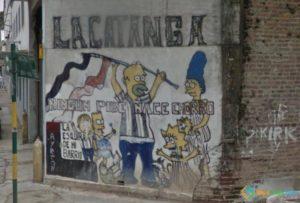 The Simpsons Graffiti, Buenos Aires, Argentina