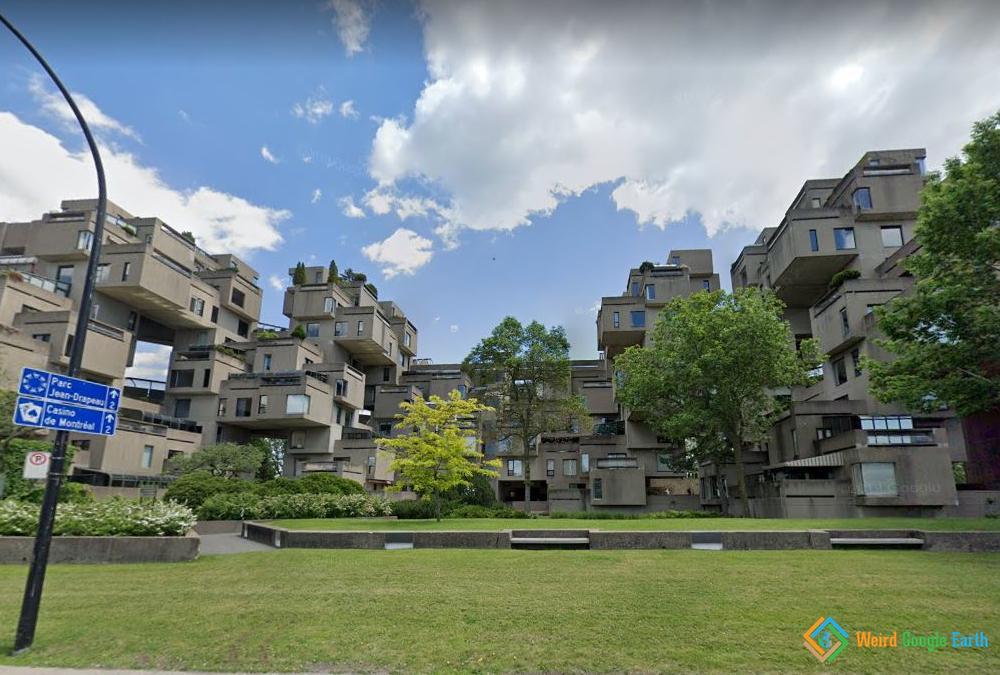 Habitat 67, Montreal, Quebec, Canada