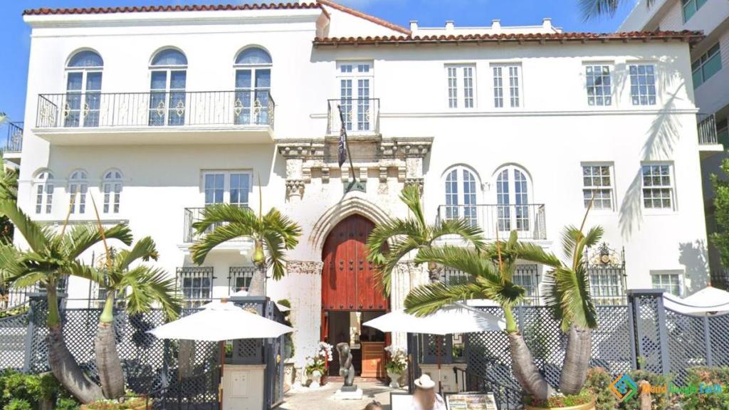 Gianni Versace's House and Crime Scene of His Death, Miami, Florida, USA