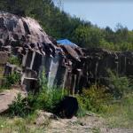 Basalt Columns, Rivne Oblast, Ukraine