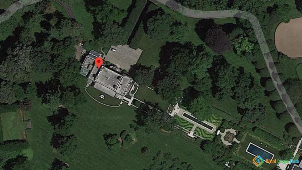 George Soros' Home, Bedford Hills, New York, USA