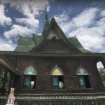 Wat Pa Maha Chedi Kaew, Sisaket Province, Thailand