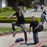 Guy Dancing in Joy, San Diego, California, USA